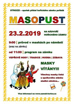 Plakát Masopust 2019