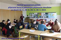 Přípravné kurzy - Soukromé gymnázium