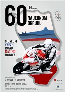 Muzeum Czech Road Racing - plakát